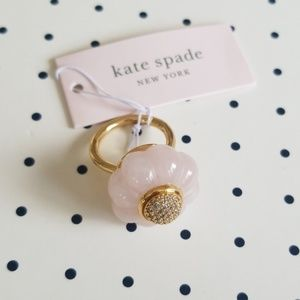 kate spade pink confection ring